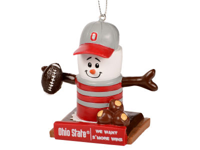 Ohio State Buckeyes Thematic Smore Ornament