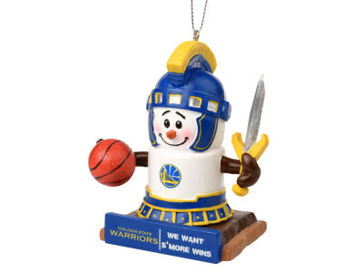 Golden State Warriors Thematic Smore Ornament