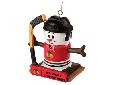 Chicago Blackhawks Thematic Smore Ornament