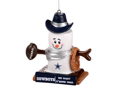 Dallas Cowboys Thematic Smore Ornament