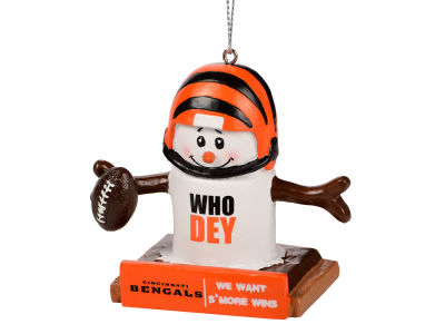 Cincinnati Bengals Thematic Smore Ornament