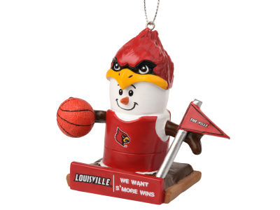 Louisville Cardinals Thematic Smore Ornament
