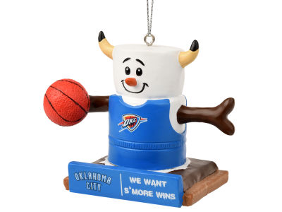 Oklahoma City Thunder Thematic Smore Ornament