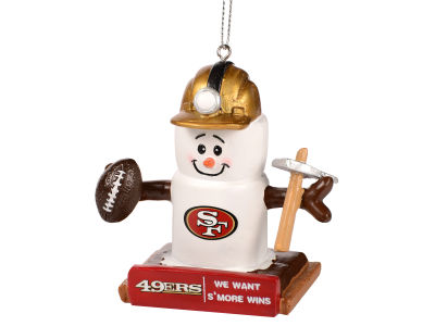 San Francisco 49ers Thematic Smore Ornament