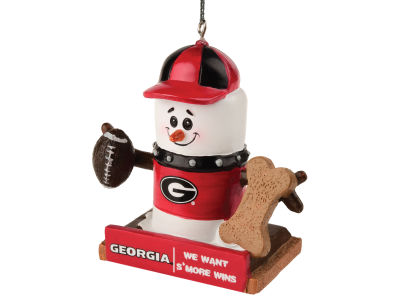 Georgia Bulldogs Thematic Smore Ornament