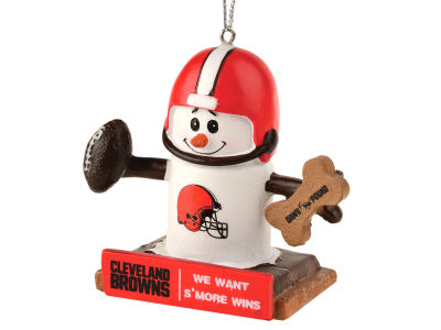Cleveland Browns Thematic Smore Ornament