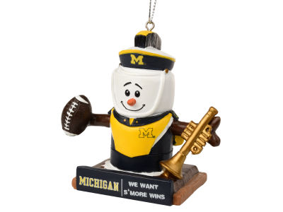 Michigan Wolverines Thematic Smore Ornament