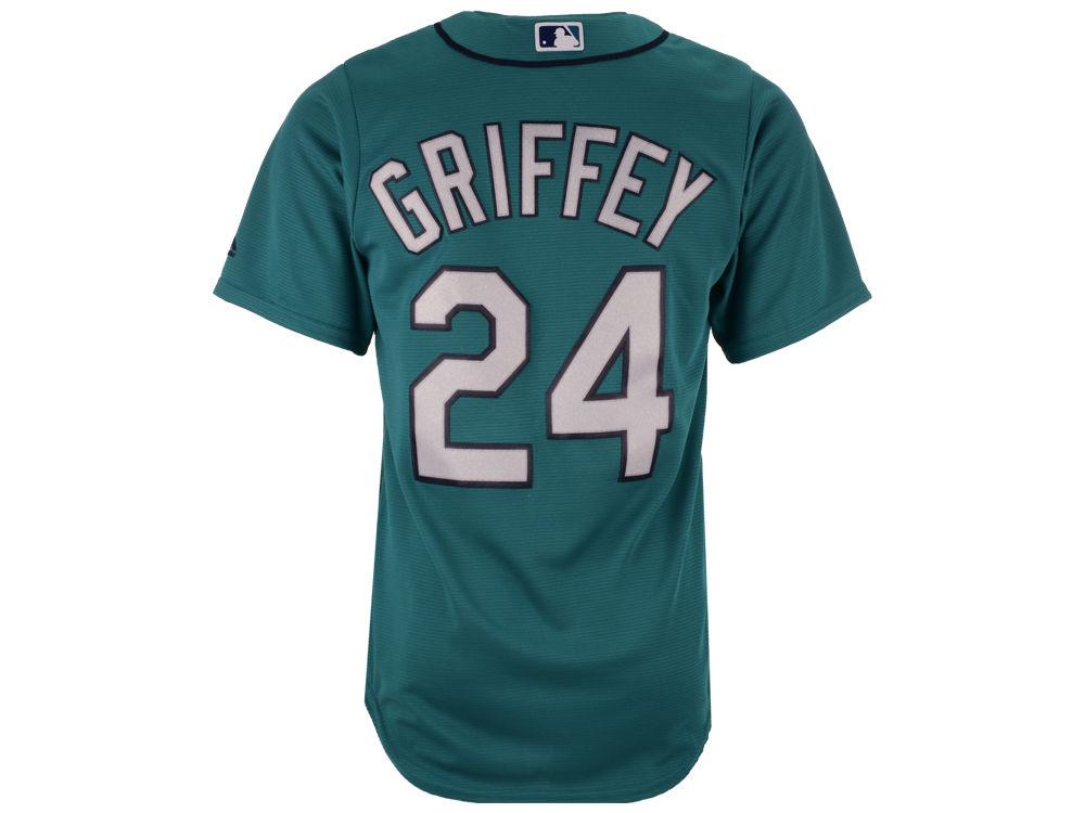 Seattle Mariners Ken Griffey Jr. Majestic MLB Men s Cooperstown Player  Replica CB Jersey 0f45cebf7