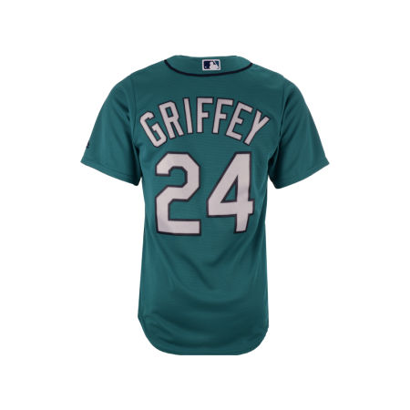 Seattle Mariners Ken Griffey Jr. Majestic MLB Men's Cooperstown Player Replica CB Jersey