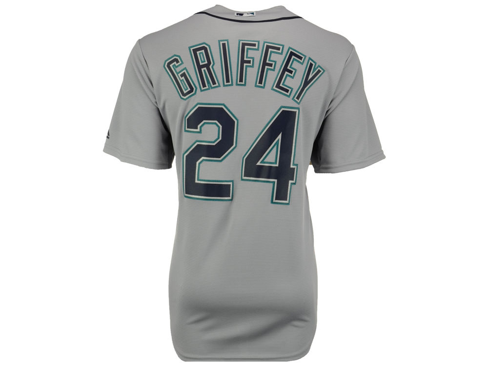 Seattle Mariners Ken Griffey Jr. Majestic MLB Men s Cooperstown Player  Replica CB Jersey  588cbf545