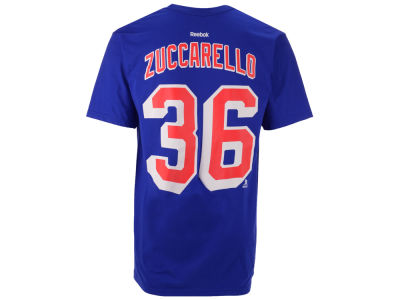 New York Rangers Mats Zuccarello Reebok NHL Men's Player T-Shirt