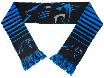 Carolina Panthers Big Logo Scarf Reversible