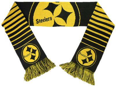 Pittsburgh Steelers Big Logo Scarf Reversible