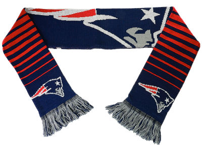 New England Patriots Big Logo Scarf Reversible