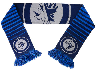 Winnipeg Jets Big Logo Scarf Reversible