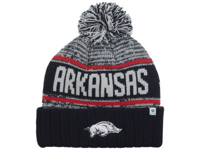 Arkansas Razorbacks Top of the World NCAA Acid Rain Pom Knit