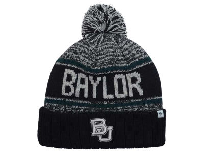 Baylor Bears Top of the World NCAA Acid Rain Pom Knit