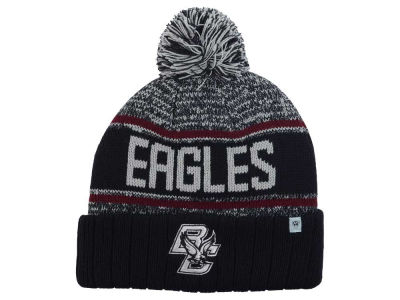Boston College Eagles Top of the World NCAA Acid Rain Pom Knit