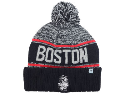 Boston Terriers Top of the World NCAA Acid Rain Pom Knit