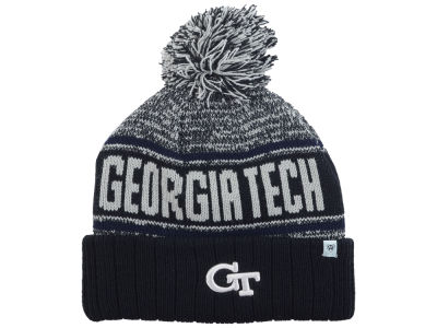 Georgia-Tech Top of the World NCAA Acid Rain Pom Knit