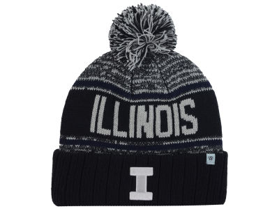 Illinois Fighting Illini Top of the World NCAA Acid Rain Pom Knit