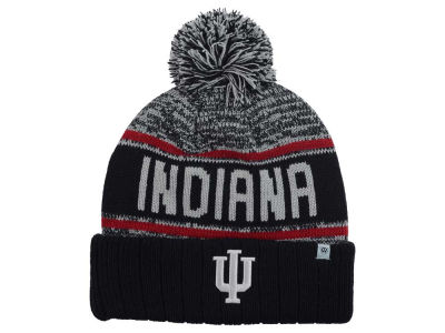 Indiana Hoosiers Top of the World NCAA Acid Rain Pom Knit