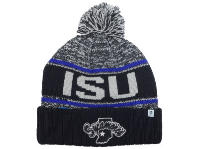Indiana State Sycamores Top of the World NCAA Acid Rain Pom Knit