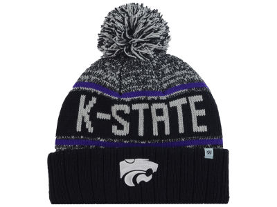 Kansas State Wildcats Top of the World NCAA Acid Rain Pom Knit