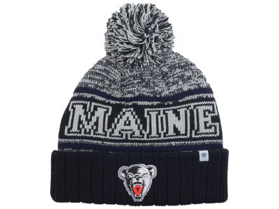 Maine Black Bears Top of the World NCAA Acid Rain Pom Knit