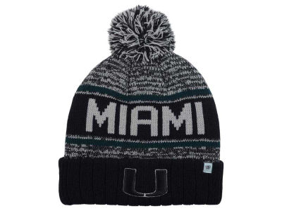 Miami Hurricanes Top of the World NCAA Acid Rain Pom Knit