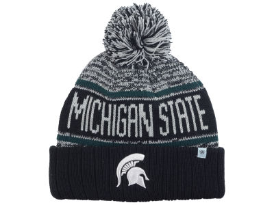 Michigan State Spartans Top of the World NCAA Acid Rain Pom Knit