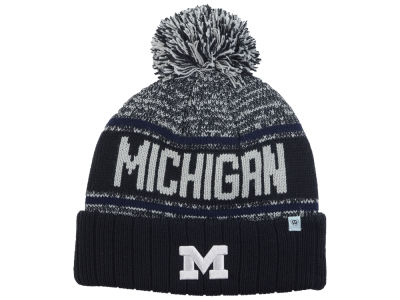 Michigan Wolverines Top of the World NCAA Acid Rain Pom Knit