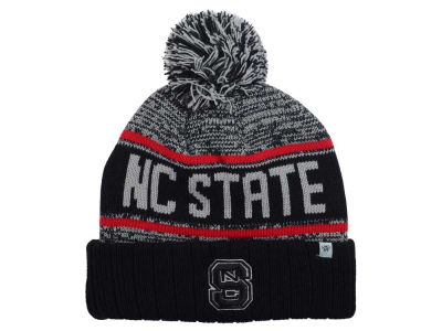 North Carolina State Wolfpack Top of the World NCAA Acid Rain Pom Knit