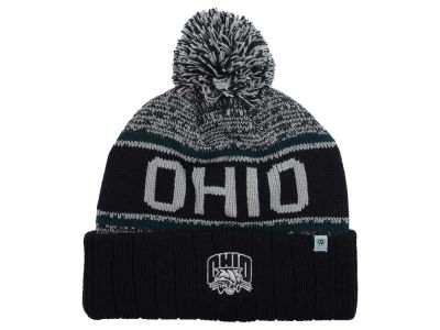 Ohio Bobcats Top of the World NCAA Acid Rain Pom Knit