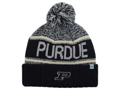 Purdue Boilermakers Top of the World NCAA Acid Rain Pom Knit
