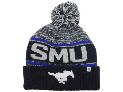 Southern Methodist Mustangs Top of the World NCAA Acid Rain Pom Knit