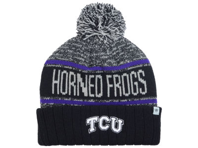 Texas Christian Horned Frogs Top of the World NCAA Acid Rain Pom Knit