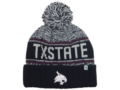 Texas State Bobcats Top of the World NCAA Acid Rain Pom Knit