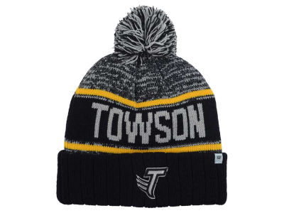 Towson University Tigers Top of the World NCAA Acid Rain Pom Knit