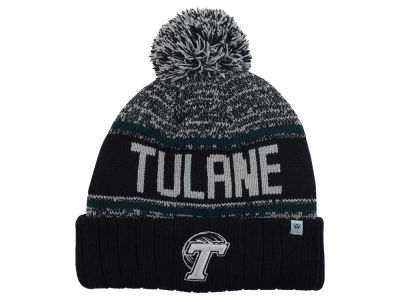 Tulane Green Wave Top of the World NCAA Acid Rain Pom Knit