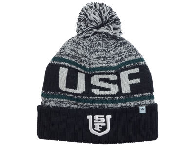 University of San Francisco Dons Top of the World NCAA Acid Rain Pom Knit