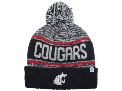 Washington State Cougars Top of the World NCAA Acid Rain Pom Knit