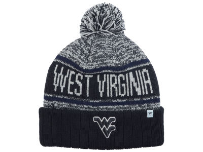 West Virginia Mountaineers Top of the World NCAA Acid Rain Pom Knit