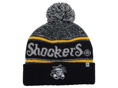 Wichita State Shockers Top of the World NCAA Acid Rain Pom Knit
