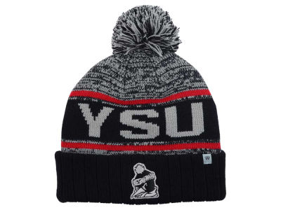 Youngstown State Penguins Top of the World NCAA Acid Rain Pom Knit