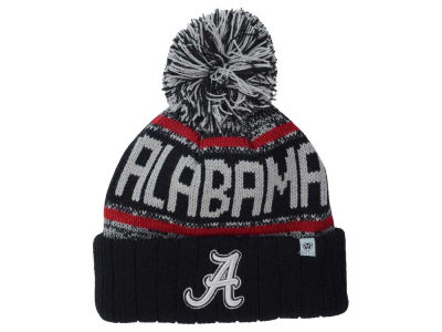 Alabama Crimson Tide Top of the World NCAA Kids Acid Rain Pom Knit