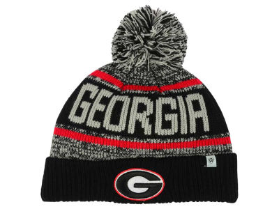 Georgia Bulldogs Top of the World NCAA Kids Acid Rain Pom Knit