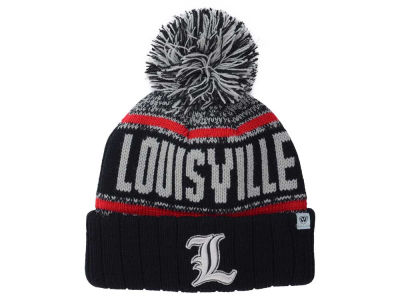 Louisville Cardinals Top of the World NCAA Kids Acid Rain Pom Knit