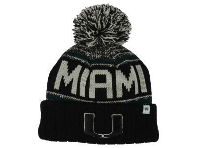 Miami Hurricanes Top of the World NCAA Kids Acid Rain Pom Knit