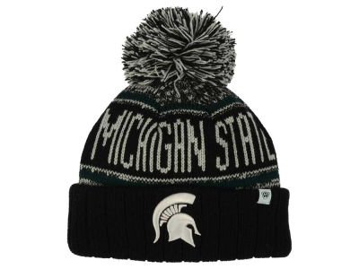 Michigan State Spartans Top of the World NCAA Kids Acid Rain Pom Knit